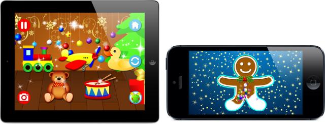 Lalie Christmas Ipad Iphone5